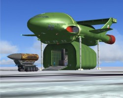 FS2004 TV Series Thunderbird-2 image 1