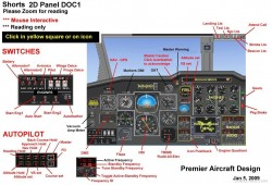 FSX Shorts SD3-30 30 passenger twin turboprop image 1