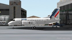 FS2002 Air France SAAB 340B v1.2 image 1