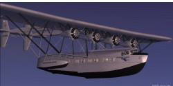 FS2004/FSX Sikorsky S-40A Southern Clipper image 1