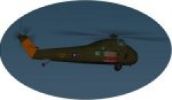 CH-34A Choctaw with gmax Flight Simulator image 1