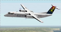 FS2002 South African Express De Havilland turbo image 1