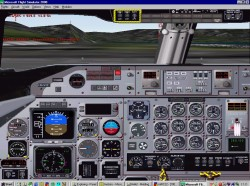 FS2002 South African Express De Havilland turbo image 2