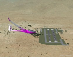 fictional Sailplane Airport located image 2