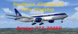 FSX Southern Airlines VA Boeing 777-200ER image 2