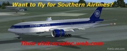 FSX Southern Airlines VA Boeing 777-200ER image 4