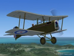 FS2004/FSX Royal Aircraft Factory Se5A Regarded image 1