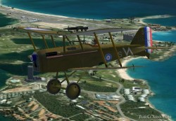 FS2004/FSX Royal Aircraft Factory Se5A Regarded image 2