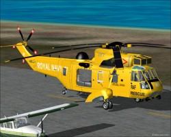 FS2004 WESTLAND SEA KING HAR3A image 1