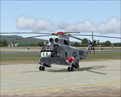FS2004 Sikorsky SH3 A-D66 Upgrade Helicopter image 1