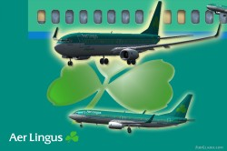 Project Opensky - Boeing 737-800WL -Aer lingus image 1