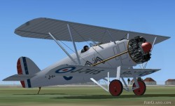 FS2004/FSX Armstrong Whitworth Siskin fighter image 1