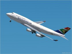 FS2002 MelJet B747 South African Airways image 1