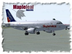 IFDG Skyservice/conquest A319 Flightsim image 1