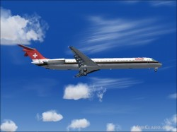 Swissair O/c Hb-ind Md-83 cone Textures image 1
