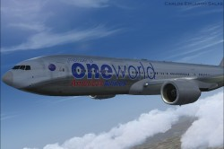 FSX American Airlines BOEING 777-200 ER N791AN image 3