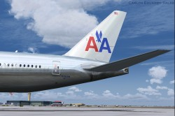 FSX American Airlines BOEING 777-200 ER N791AN image 5