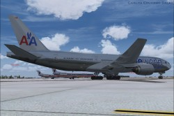 FSX American Airlines BOEING 777-200 ER N791AN image 6