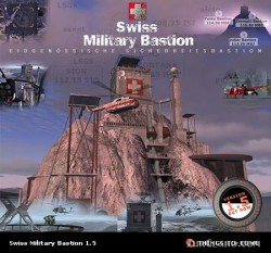 Swiss Military Bastion - Microsoft Flight image 1