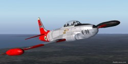 FSX SP2 Acceleration Lockheed T-33A image 1