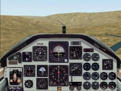 FS2002 Panel: Northrop T-38A Talon Panel v2 image 1