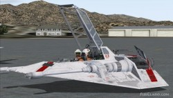 FS2004 StarWars Incom Engineering T-47 image 1