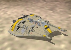 FS2004 StarWars Incom Engineering T-47 image 2