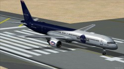 TDS Boeing 757-300PW PAN Blue/White livery image 1