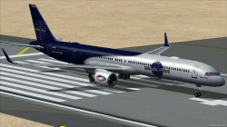 TDS Boeing 757-300PW PAN Blue/White livery image 2
