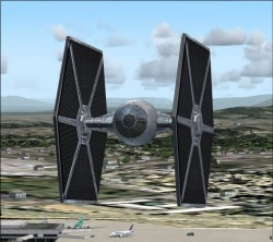 Tie Fighter Pack 2 Flight Simulator 2004 with image 2
