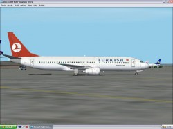 Turkish Boeing 737-400 Fs2002 - Aircraft image 1