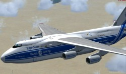 FSX Antonov AN124 Native FSX model image 1
