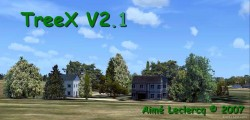 TREEX V2.1 c 2007 - exclusively FSX SP1 image 1