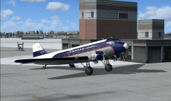 FSX DC-3 Turner and Lake Central airlines image 1