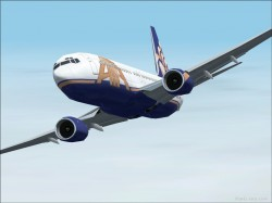 FS2002 Boeing 737-800 American Trans Air image 1