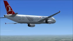 FS2004/FSX Turkish Airlines Airbus A321-231 image 1