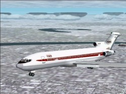 Fs2000-2002 Twa 727-200 Livery 60s Early image 1