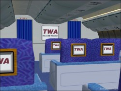 Fs2002 Trans World Airlines Boeing 777-236er image 1