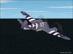 FS2004 Textures exclusively Bristol Beaufighter image 1