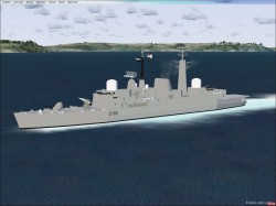 Type 42 Class Destroyers FSX image 1