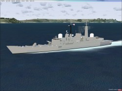 Type 42 Class Destroyers FSX image 2