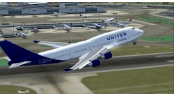 Boeing 747-400 United Charter image 2