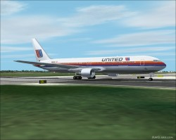 FS2002 United Airlines 767-300 Twin Pack image 1