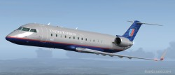 FS2004 United Express CRJ-200 Two United image 1