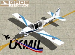 UKMIL Grob Tutor flight simulator X image 1