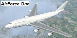 Boeing 747-400 Air Force One Liverie Flight image 1