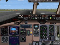 MD80 panel flight simulator X image 2