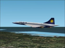 VARIG LIVERY PROJECT MACH2 CONCORDE LIVERY image 2
