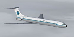 Vickers VC-10 Romanian covering/liveries image 1