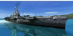 FSX British Navy carrier HMS Victorious image 1